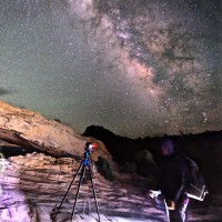 The Milky Way from Canyonlands National Park, by Lee Phillips
