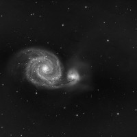 M51 Lum, By Dave Trelfer