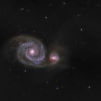 M51, By Dave Trelfer